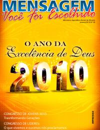 Revista Mensagem - Edição 30 - Janeiro - 2010