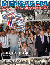 Revista Mensagem - Edição 33 -Abril 2010