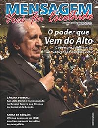 Revista Mensagem - Edição 36 - Agosto 2010