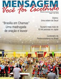 Revista Mensagem - Edição 40 -Marco 2011