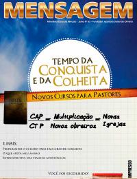 Revista Mensagem - Edição 63 - Julho 2013